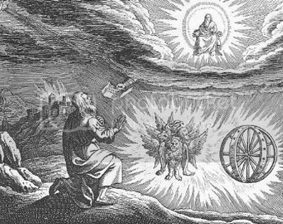 Ezekiel's vision - click to read