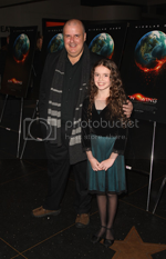 Lara Robinson and Alex Proyas