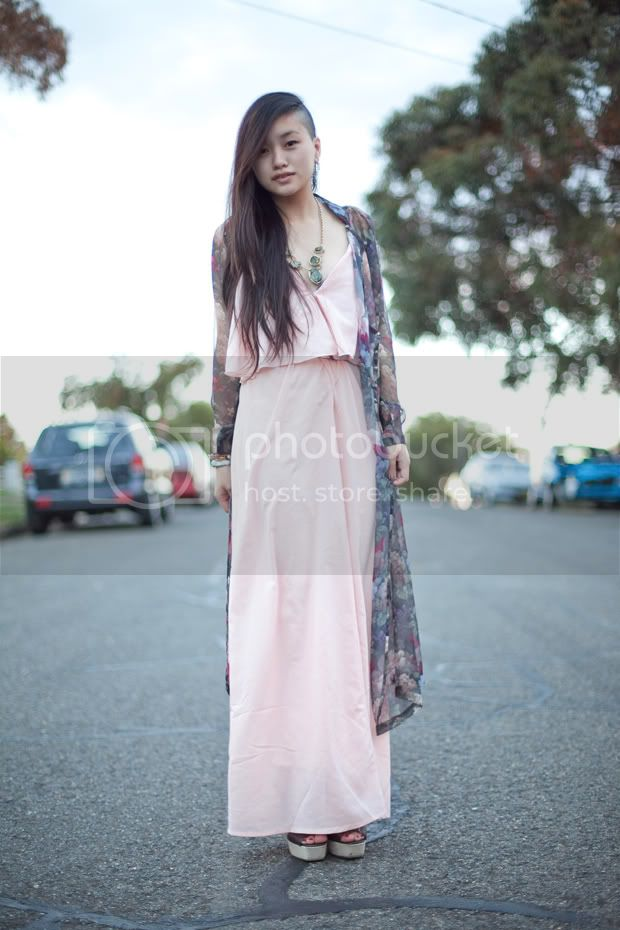 Jess Loves Fred Jessica Tran Floral Ao Dai